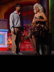 Jessica Perlman as Audrey in Little Shop of Horrors